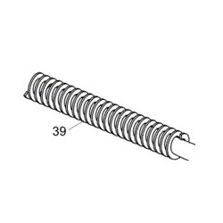 39, Recoil spring assembly, steel (P-09)