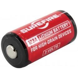 Surefire CR123A Battery