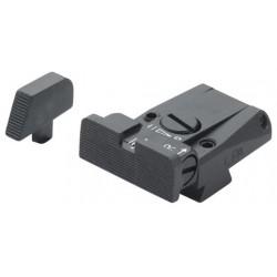 LPA Adjustable Sight Set, Plain (Pre B)