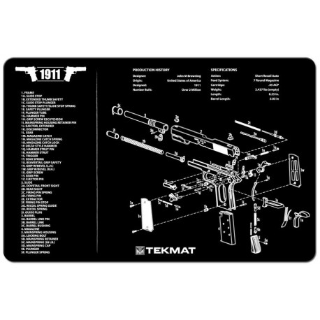 Tekmat Cleaning Mat Other Handguns Jizni Cz Accessories