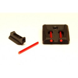 1mm Fiber optic sights set - defender (P07/P09)