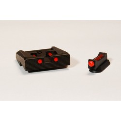 1mm Fiber optic sights set - target (P07/P09)