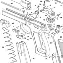 Spare parts (CZ 97 B)