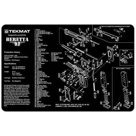 TekMat cleaning mat (Beretta)