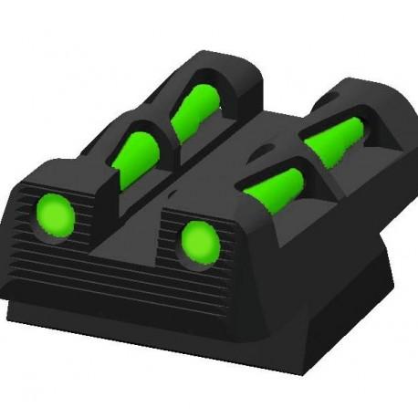 Hi Viz Litewave rear sight (CZ 75B) - Jizni CZ Accessories