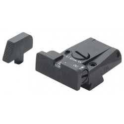 LPA Adjustable Sight Set, Plain (Pre B)