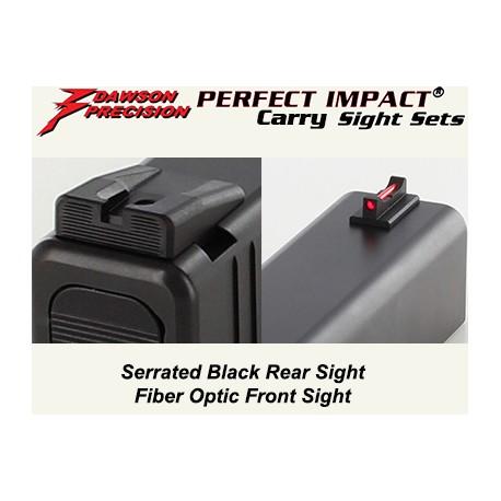 Dawson Fiber / Black Carry Set (Gen3 / 4)