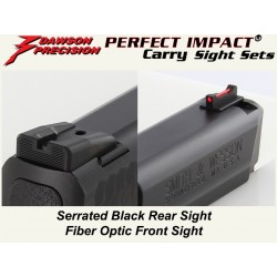 Dawson Black / Fiber Carry Set (M&P)