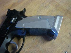 CZ Custom Short alu grips, grip tape (Shadow) - Jizni CZ Accessories