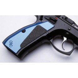 CZ Custom Aluminium grips, grip tape (Shadow)