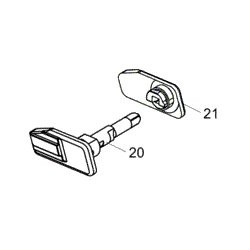 21, 21, Safety lever (P-07/P-09)